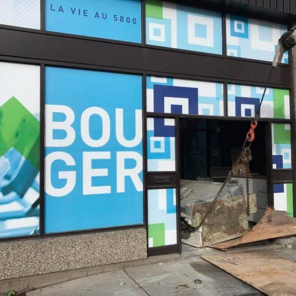 PROJET BASE BUILDING / DÉMOLITION VOUTE DE BANQUE